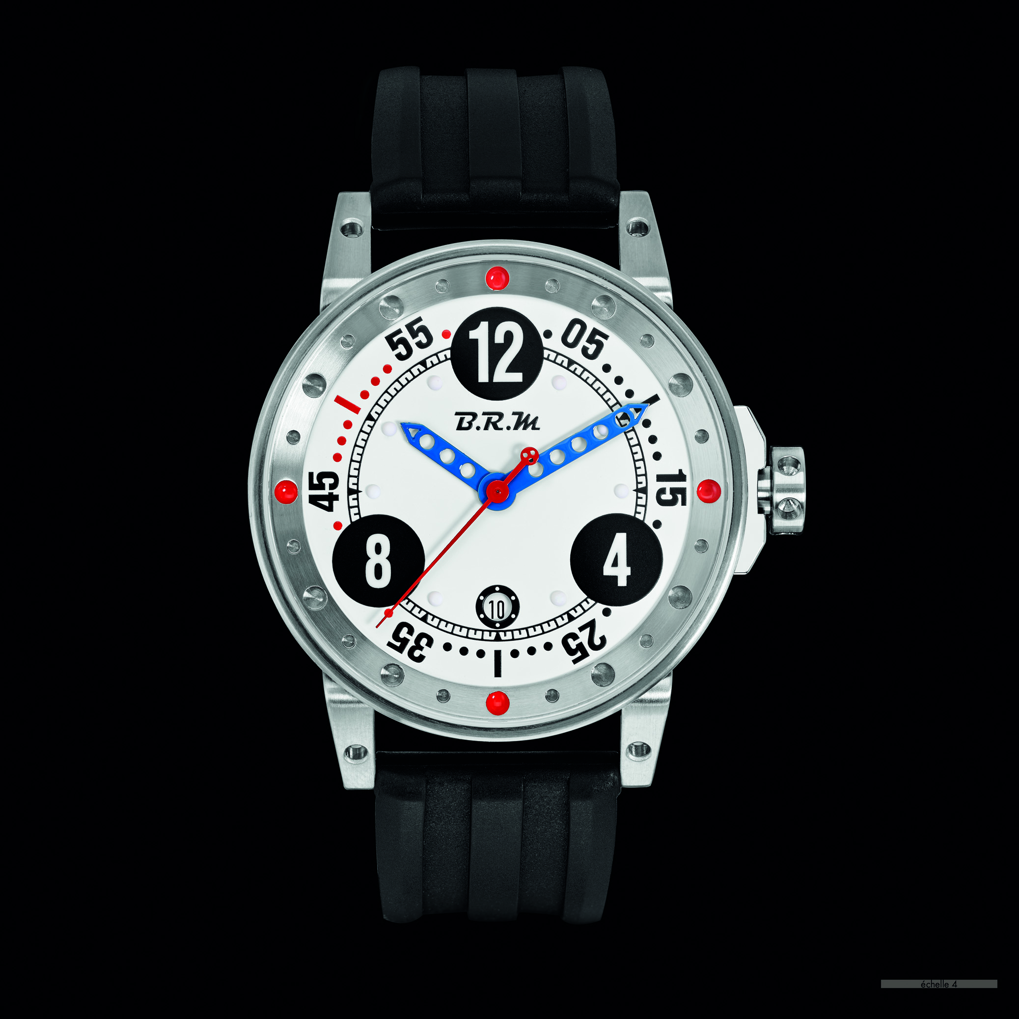 V6-44 Stand 21 Watch by B.R.M. Chronographes