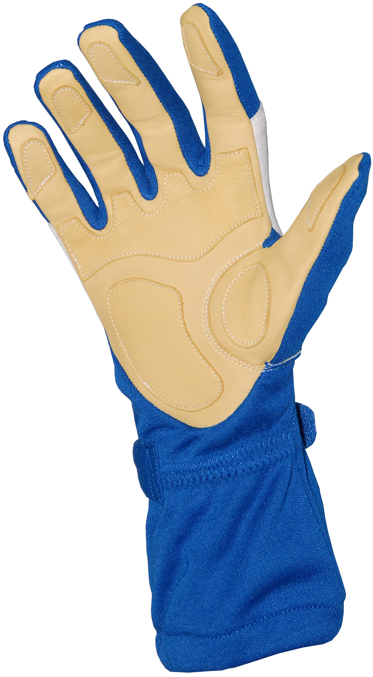 Stock royal blue Carrera gloves