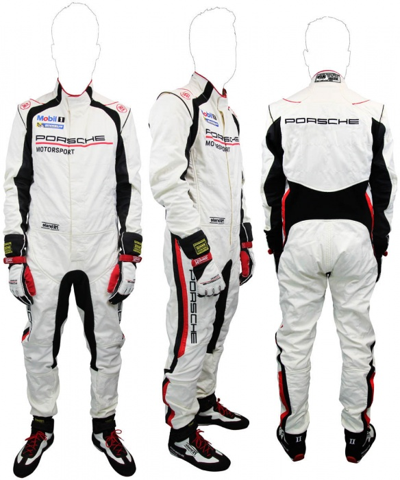 La Couture Porsche Motorsport suit